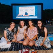 Piknik kino plaža Bernardin