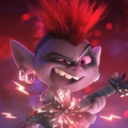 Queen Barb (Rachel Bloom) in DreamWorks Animation's Trolls World Tour, directed by Walt Dohrn.