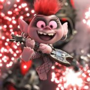 Queen Barb (Rachel Bloom) in DreamWorks Animation's Trolls World Tour, directed by Walt Dohrn.