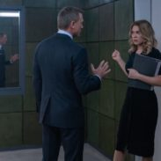 B25_16762_RC3James Bond (Daniel Craig) in discussion with Dr. Madeleine Swann (Léa Seydoux) in NO TIME TO DIE, a DANJAQ and Metro Goldwyn Mayer Pictures film.Credit: Nicola Dove© 2019 DANJAQ, LLC AND MGM.  ALL RIGHTS RESERVED.