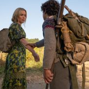 """Evelyn (Emily Blunt) and Marcus (Noah Jupe) brave the unknown in """"A Quiet Place Part II."""""""